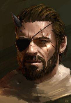 Big Boss (Venom Snake) by WeaponMassCreation