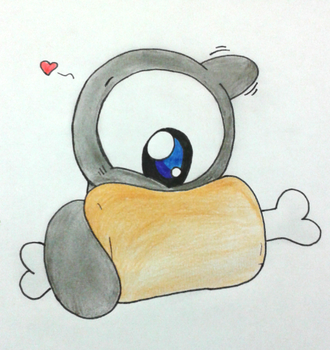 Eating Something by GluryTheUnown