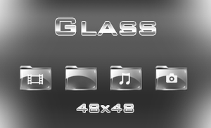 Glass Icons by HellHoundx666