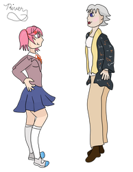Request #45-Dorothy and Natsuki by riverofchaos1125