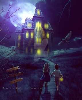 The Haunted House by Wesley-Souza