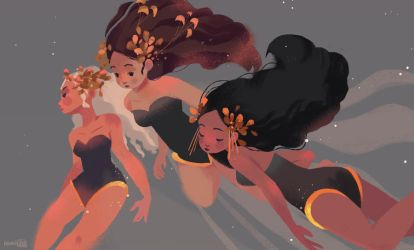 Muses by hyamei