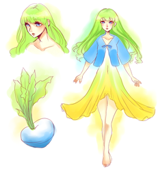 Turnip Girl Concept by Vocastar