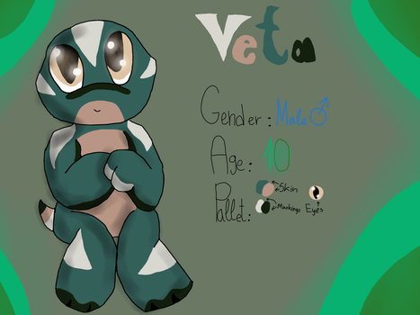 Veta the lizard (New TMNT OC) by Foziz105