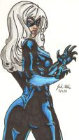The Black Cat by Shigdioxin