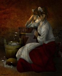 The Scullery Maid by SpiritCreations