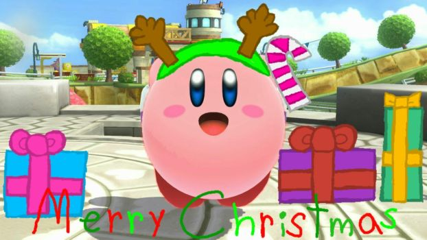 Kirby wishes you Merry Christmas by user15432