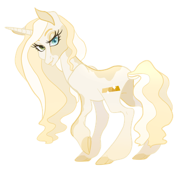 MLP OC: Goldie by TenderLumpkins