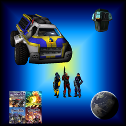 PlanetSide Icon Pack by haywire7