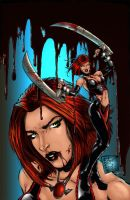 Bloodrayne Pinup by beretta92