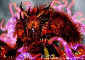 INUGAMI: Thirteen-Tailed Wolf by ERIC-ARTS-inc