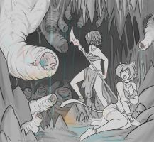 Cave of carnivore by imaneggplant