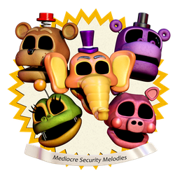 Security Mediocre Melodies Pack release !! by Popi01234