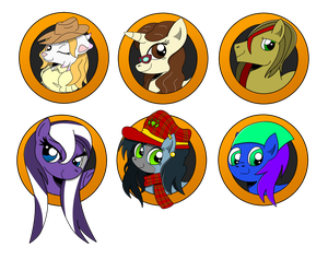 Brony Badge set 9 by DBurch01