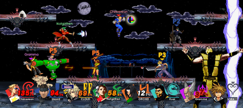 Super Smash Bros. Ultimate fake by Chimera495