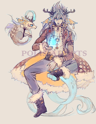 [CLOSED] adopts auction - blue dragon by Polis-adopts