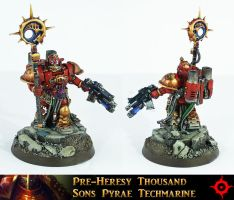 Thousand Sons Pyrae Techmarine by Proiteus