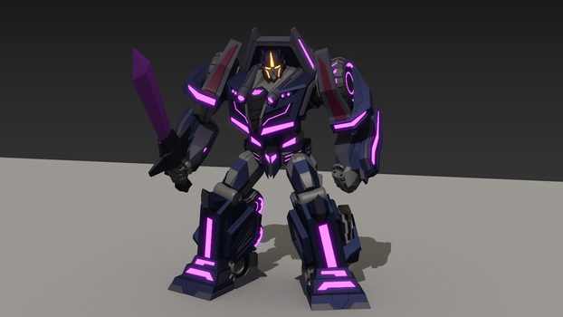 WFC Motormaster 3D Robot Model by ShadowElite217