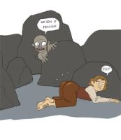 Hobbit super hiding skillz by kyla79