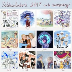 2017 Art Summary by Sildesalaten