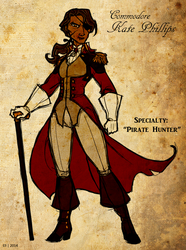 Commodore K. Phillips, Pirate Hunter by AetheriumDreams