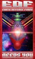 Space Battleship Yamato by SuperEdco