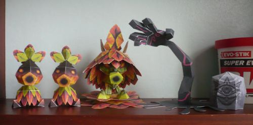 Papercraft Collecton II by Avrin-ART