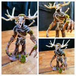 Leshen Sculpture - The Witcher 3 (Polymer Clay) by makerforge