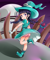 Some witch loli by StalkingP