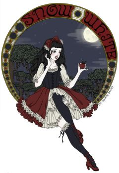 Snow white lolita by DarkDevi