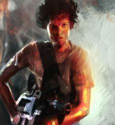 Sigourney weaver by Art--Tool