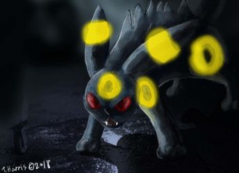 Umbreon by m0osegirlhunter