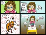 Crappy Comic 8 - Bedbugs hallucinations by chlorofilla
