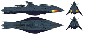 Deritera-class Astro Stealth Destroyer by Tzoli