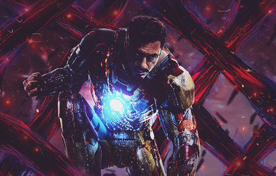 Iron Man by SquishFX