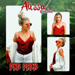 Alissa Violet PNG PACK-by Mel by melissaalison13