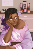 sombra doesn't do mondays by MagicalZombie