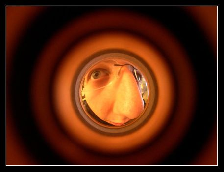 The Peep Hole Effect by kezz