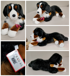 Douglas Cuddle Toys - Bohdi Bernese Mountain Dog by The-Toy-Chest