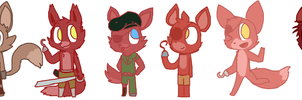 Join Me: Drawing the Foxys that I didn't draw by Cookie-and-her-foxes