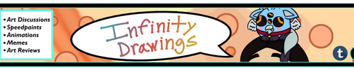 Youtube Channel Art by Infinity-Drawings