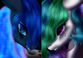 Two Halves Divided by Crazyaniknowit