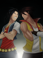 Rivals by witch-girl-pilar