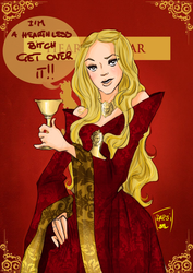 The Queen B(itch) by AlexielApril