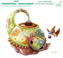 Daily Paint 1972# Teahistoric - Ankylosaur by Cryptid-Creations