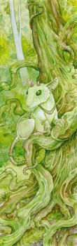 Mouse Dryad by ursulav