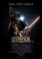 Lucasfilm Poster by tanman1