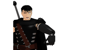 MMD Guts from Berserk limited DL Link. by Metalmiku2