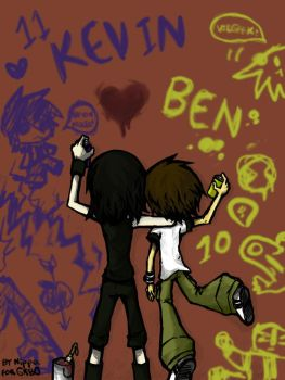 Ben10:BEVIN GRAFFITI by Nippo