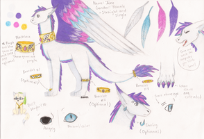 My Fursona, June - Reference (July 2014) by FantasyVentriloquist